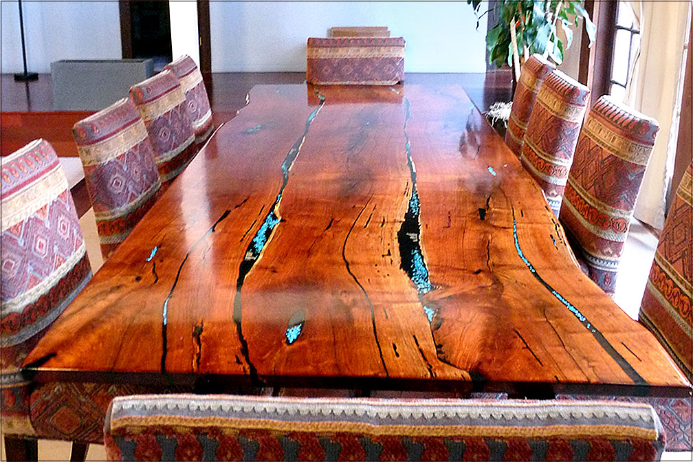 Mesquite Dining Room Table 19 Ugum Spider Web Co