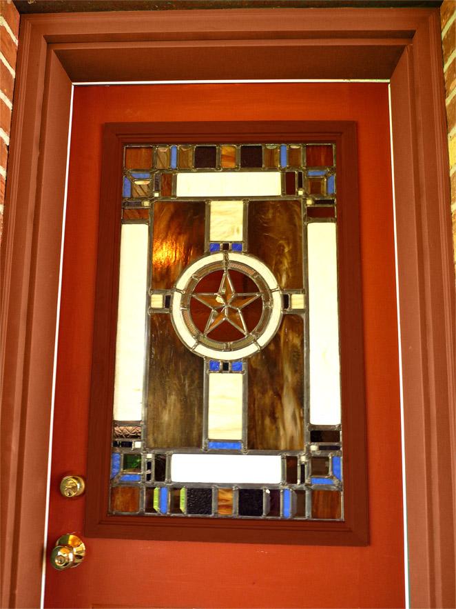 Star Door & Portfolio: Glass - Lone Buffalo Studio pezcame.com